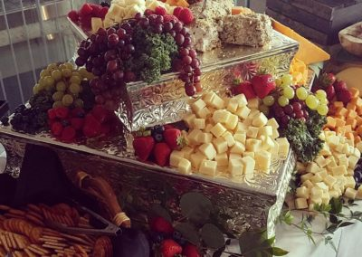 Rococo Catering Cheese and Fruit Buffet